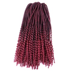 Curly Synthetic Hair Braids (Sold in a single piece) 100g