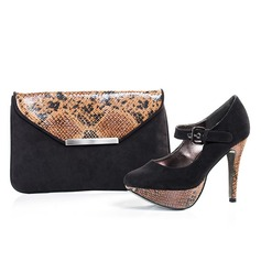 Charming Velvet Shoes & Matching Bags