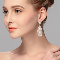 Exquisite Alloy With Rhinestone Women's/Ladies' Earrings