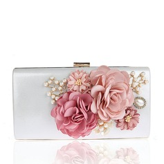 Elegant Satin Clutches/Wristlets/Totes/Fashion Handbags/Makeup Bags/Luxury Clutches (012141816)