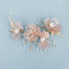Beautiful Copper Headbands With Venetian Pearl (Sold in single piece)