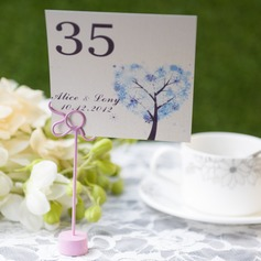 Personalized Tree Design Card Paper Table Number Cards