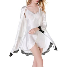 Modern/Contemporary lace Silk / Cotton Slips Robe