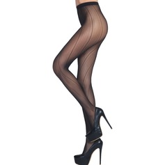 Striated Nylon Chinlon Pantyhose