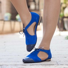 Women's Suede Flat Heel Sandals Flats With Others shoes