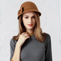 Ladies' Elegant Wool Floppy Hat