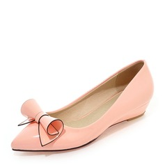 المرأة بو كعب ويدج تو مغلقة أسافين مع عقد لطيفة (بوونوت) أحذية