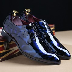 Men's Leatherette Lace-up Derbies Dress Shoes Men's Oxfords