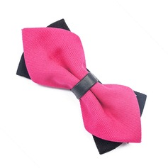 Solid Color Satin Bow Tie