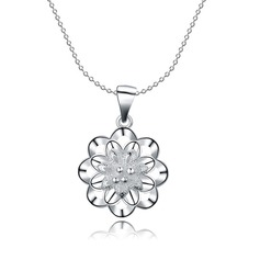 Exquisite Silver Plated Women's Fashion Necklace