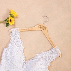 Bridesmaid Gifts - Personalized Fascinating Delicate Wooden Hanger