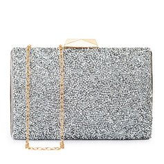 Elegant/Unique Crystal/ Rhinestone/Suede Clutches