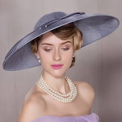 Ladies' Lovely Cambric Bowler/Cloche Hat