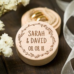 Personalized Wood Ring Box (103217053)