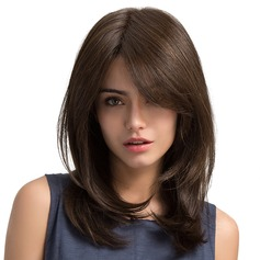 Wavy Mid-Length Synthetic Wigs (Sold in a single piece)