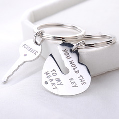 Key To Your Heart Stainless Steel Keychains