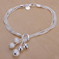 Exquisite Silver Plated Ladies' Fashion Bracelets