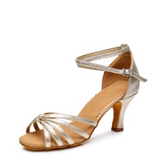 Women's Leatherette Sandals Latin Dance Shoes (053117619)