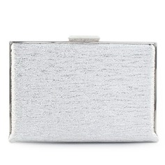 Elegant Sparkling Glitter/PU With Metal Clutches