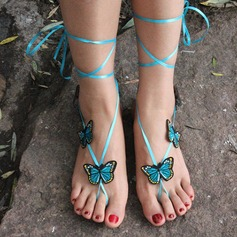 Satin Foot Jewellery (Sold in a single piece)