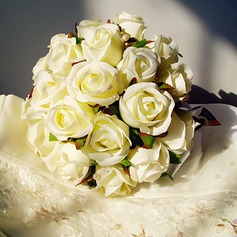 Sweet Free-Form Satin/Artificial Silk Bridal Bouquets -