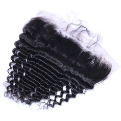 5A Virgin/remy Deep Human Hair Closure (Sold in a single piece) 70g