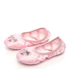 Kids' Satin Flats Ballet Dance Shoes