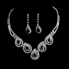 Shining Rhinestones Ladies' Jewelry Sets