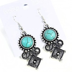 Shining Alloy With Imitation Stones Women's Fashion Earrings
