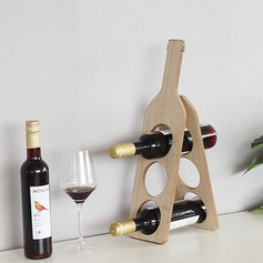 Wine Rack Wooden Pretty Elegant Table Centerpieces