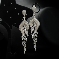 Unique Zircon de Boucles d'oreille de mode (Lot de 2)