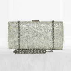 Classical Satin/Crystal/ Rhinestone Clutches/Satchel