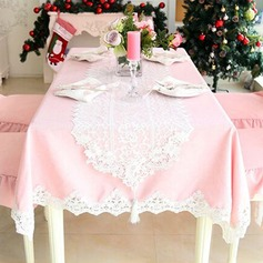 Modern/Contemporary Lace Cloth Tablecloth