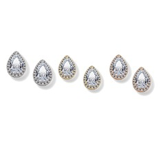 Shining Alloy Zircon Women's Fashion Earrings