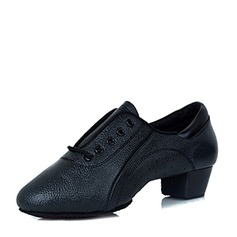 Men's Leatherette Practice Dance Shoes