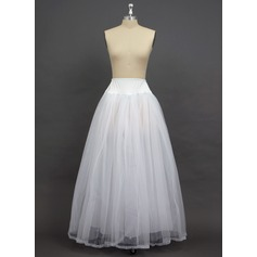 Women Tulle Netting/Spandex Floor-length 2 Tiers Petticoats (037034005)