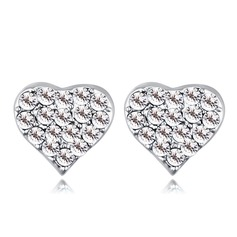 Elegant Alloy/Crystal With Crystal Ladies' Earrings