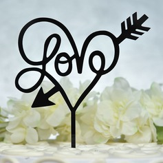 Sweet Love/Love Birds Acrylic Cake Topper