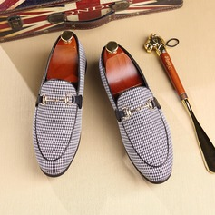Men's Canvas Horsebit Loafer Casual Men's Loafers