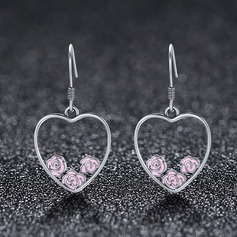 Fashional Silver Ladies' Fashion Earrings