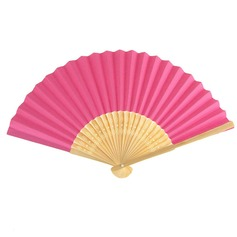 Cotton Paper Wedding Fans