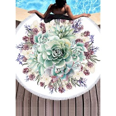 Floral Oversized Beach towel