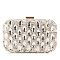 Gorgeous PU With Acrylic Jewels/Rhinestone Clutches