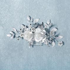 سيدات رومانسي حجر الراين أمشاط الشعر حجر الراين (تباع في قطعة واحدة)