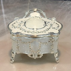 Zinc Alloy Ladies' Jewelry Box