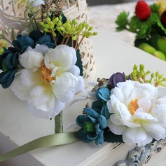 Attractive Cloth/Ribbon Wrist Corsage/Boutonniere
