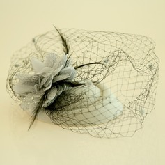 Ladies' Beautiful Feather/Net Yarn/Silk Flower/Velvet Fascinators/Tea Party Hats