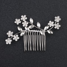 Ladies Nice Rhinestone/Alloy Combs & Barrettes