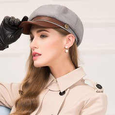 Ladies' Special/Glamourous/Simple Polyester Beret Hat