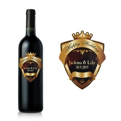 Personalized Classic Bottle Stickers/Bottle Labels  (052062360)